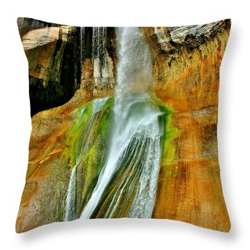 Calf Creek Falls II Throw Pillow