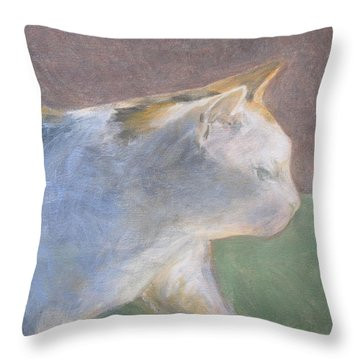 Calico Walking Throw Pillow