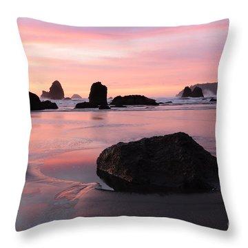 California Coast 3 Throw Pillow by Bob Christopher