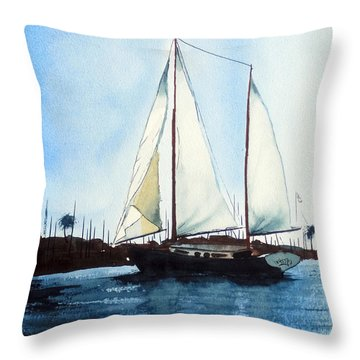 California Dreamin IIi Throw Pillow by Kip DeVore