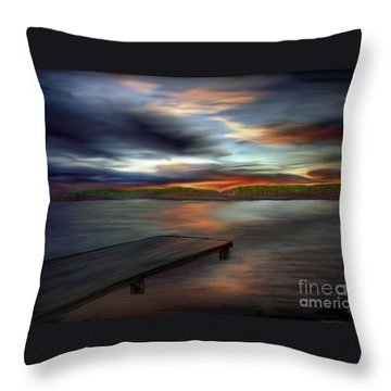 California Sky Throw Pillow