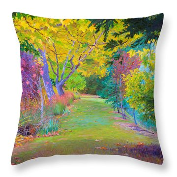 Calistoga Fall Throw Pillow
