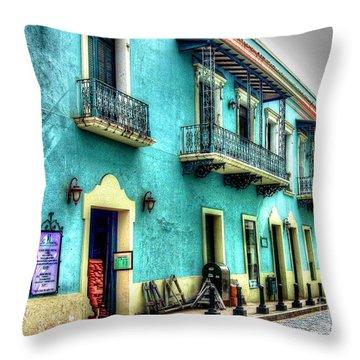Calle Cristo Throw Pillow by Debbi Granruth