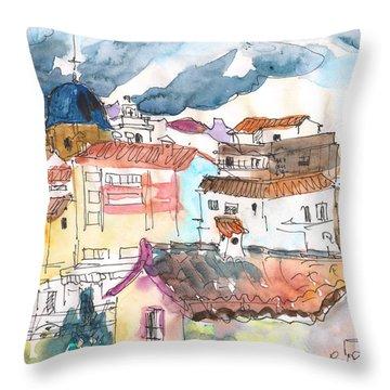 Callosa De Ensarria 02 Throw Pillow by Miki De Goodaboom