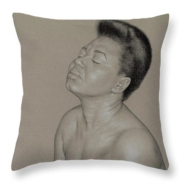 Camille 1 Throw Pillow