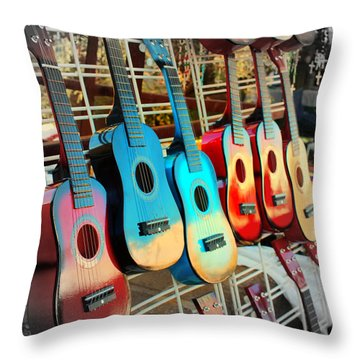 Throw Pillow featuring the photograph Can You Hear The Music by Jo Sheehan