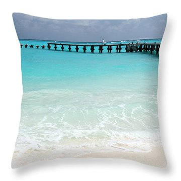 Cancun Throw Pillow