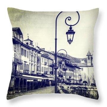 Cannobio Throw Pillow by Joana Kruse