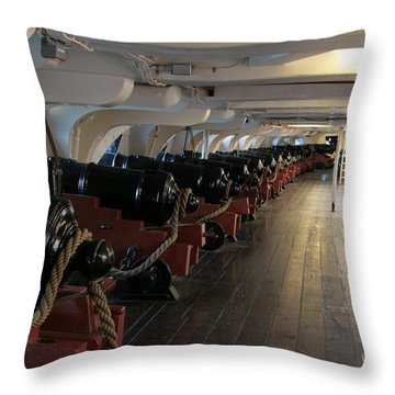 Cannons Of The Constitution Throw Pillow