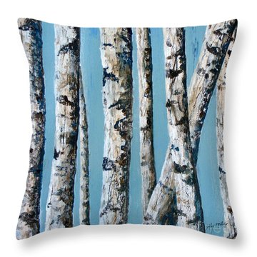 Can't See The Forest For The Trees Throw Pillow