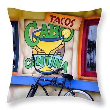 Cantina Throw Pillow