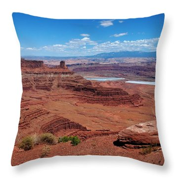 Canyonlands Throw Pillow by Dany Lison