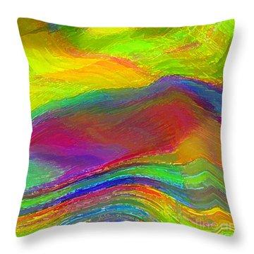 Capacious Throw Pillow by ME Kozdron