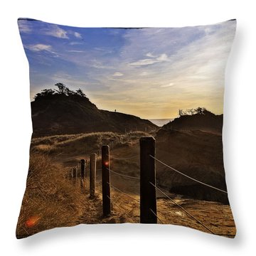 Cape Kiwanda Oregon Throw Pillow