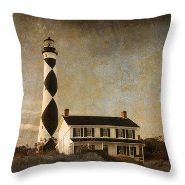 Cape Lookout Throw Pillow by Joye Ardyn Durham