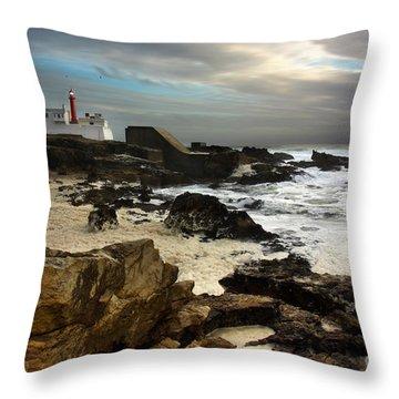 Cape Raso Throw Pillow by Carlos Caetano
