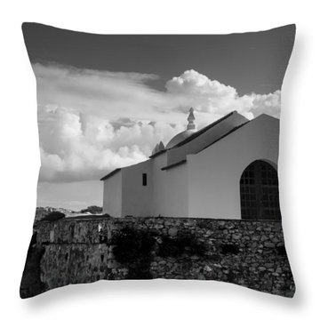 Capela Do Baleal Throw Pillow