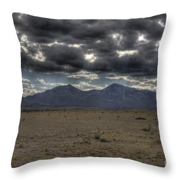 Capitan Clouds Throw Pillow