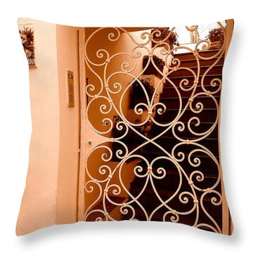 Throw Pillow featuring the photograph Capri   3 by Tanya  Searcy