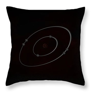 Carbon Throw Pillow