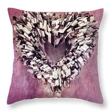 Cardia Throw Pillow by Priska Wettstein