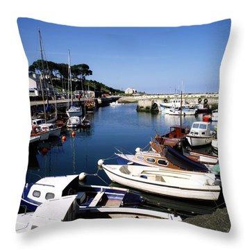 Carnlough, Co. Antrim, Ireland Throw Pillow