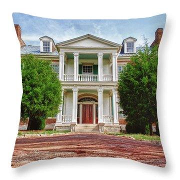 Carnton Plantation Throw Pillows