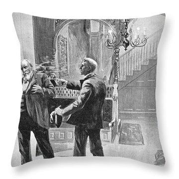 Carter Henry Harrison Throw Pillow by Granger