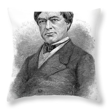 Cassius Clay (1810-1903) Throw Pillow by Granger