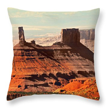 Castle Bute 1 Throw Pillow by Marty Koch