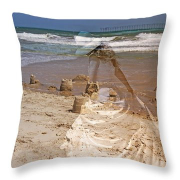 Castles And Dreams Throw Pillow