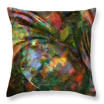 Catching The Morning Sun Throw Pillow by Jack Zulli