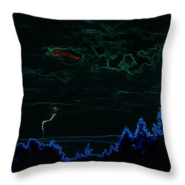 Cause And Effect Throw Pillow by Travis Crockart