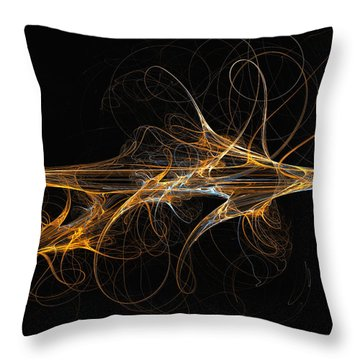 Celebration Of Impulses - Abstract Art Throw Pillow