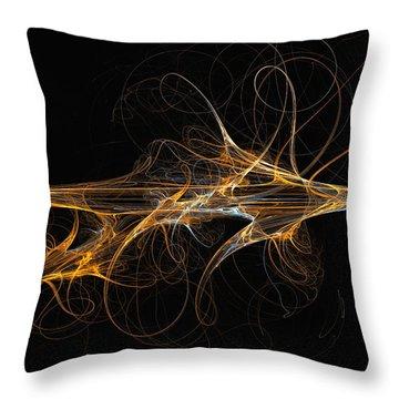 Celebration Of Impulses - Abstract Art Throw Pillow
