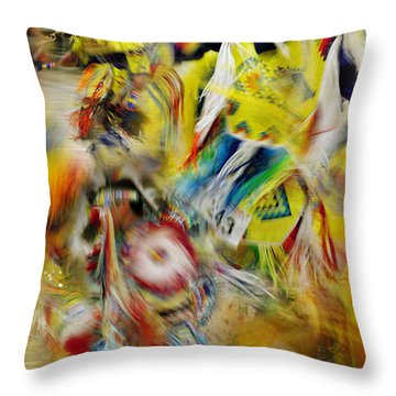 Throw Pillow featuring the photograph Celebration Of Nations by Vicki Pelham