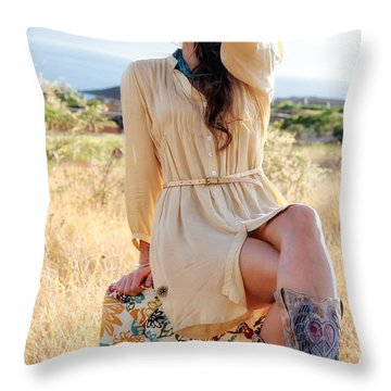 Celeste 12 Throw Pillow