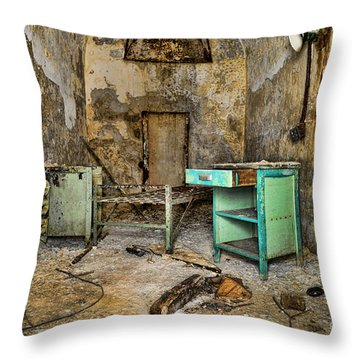 Cell Block 5 Throw Pillow by Paul Ward