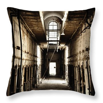 Cell Block Number 9 Throw Pillow by Bill Cannon