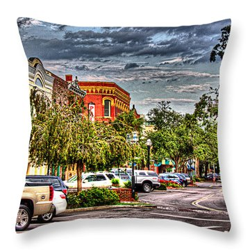 Centre Avenue Throw Pillow by Barry Jones