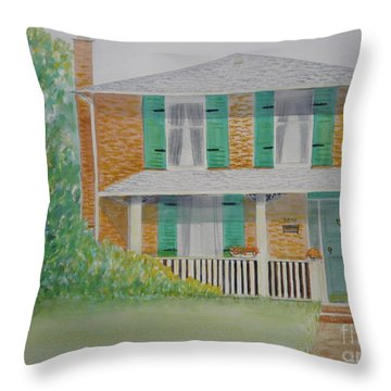 Century Home In Stouffville Throw Pillow