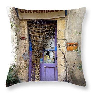 Ceramique Throw Pillow by Lainie Wrightson