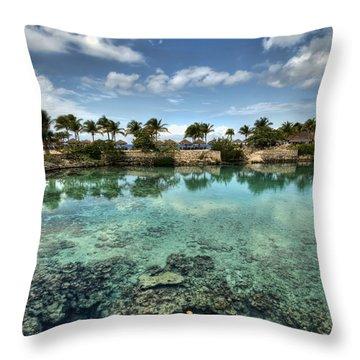 Chankanaab Lagoon Throw Pillow