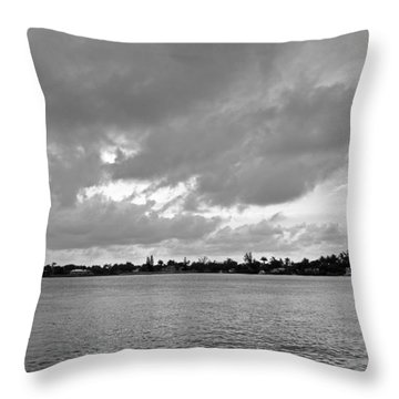 Channel View Throw Pillow