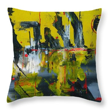 Chaotic Vision Throw Pillow by Everette McMahan jr