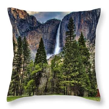 Chapel In The Valley 2 Throw Pillow