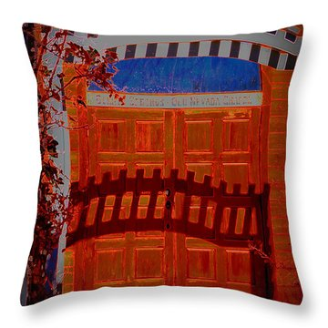 Chapel Of Love Throw Pillow