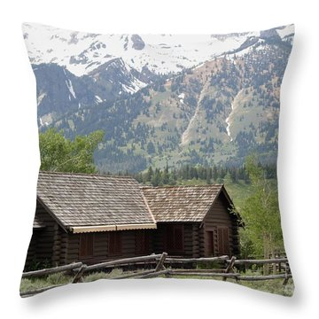 Throw Pillow featuring the photograph Chapel Of The Transfiguration Episcopal by Living Color Photography Lorraine Lynch