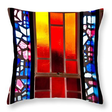 Chapel Shadows Throw Pillow