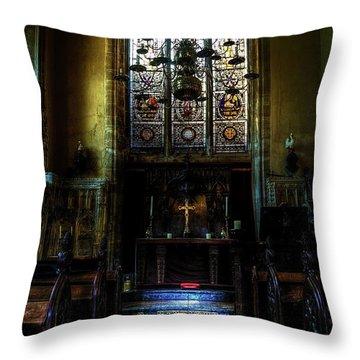 Chapel Throw Pillow by Svetlana Sewell